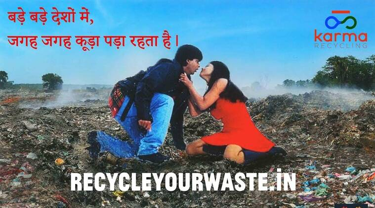 Karma Recycling and Delhi, I Love You, in collaboration with artist Shaily Gupta bring to you The Dirty pictures, a unique campaign that focuses on waste management.
