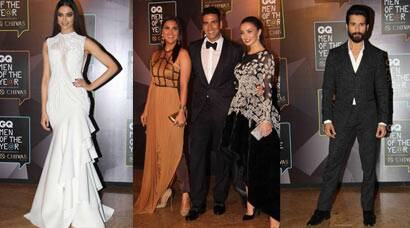 Deepika Padukone, Akshay Kumar, Shahid Kapoor, GQ Awards 2015, GQ fashion awards 2015, GQ awards 2015 photos, Deepika Padukone, Akshay, Amy Jackson, Evelyn Sharma, Lara Dutta, Pernia Qureshi, Aditi Rao Hydari