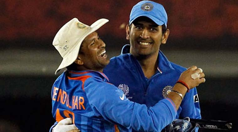 Image result for dhoni sachin