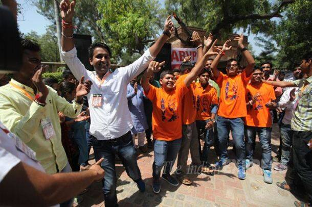 Du Election, DUSU, Du Election 2015, Delhi University, DUSU 2015, Delhi university Campus, BJP, AAP, Du Students union, Delhi University Election, Chhatra Yuva Sangharsh Samiti, CYSS, ABVP, NSUI, AISA, Du election Candidates, Dusu candidates, Dusu rally, Dusu news, Delhi News