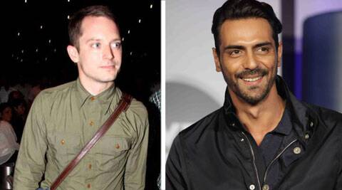 Elijah Wood, Elijah Wood india, arjun rampal, arjun rampal Elijah Wood, arjun rampal disc, Elijah Wood in india, entertainment news
