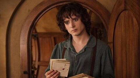 Elijah Wood doesn't 'think' about Frodo Baggins image
