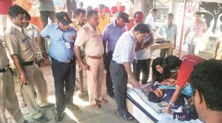 FTII student on fast lands in ICU in Punehospital