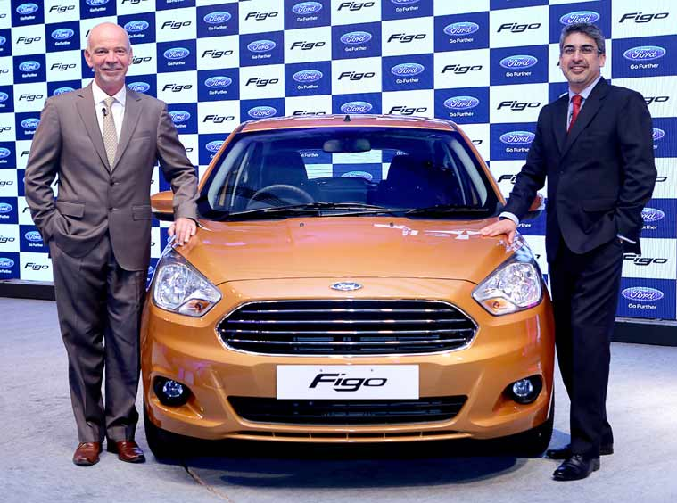 New Ford Figo Launched In India Auto Travel News The Indian Express