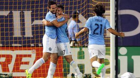 Frank Lampard ends goal drought, scores maiden goal for New York City