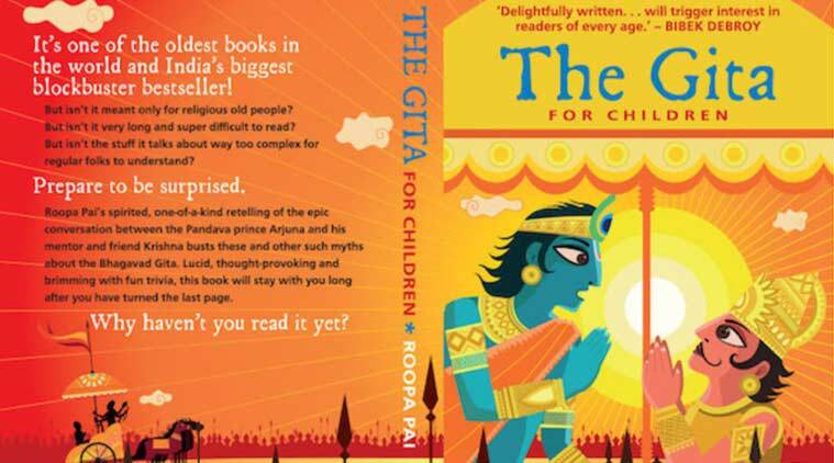 Gita for Children, Book Review, Children book, Roopa Pai, Bhagavad Gita, Waorld War II