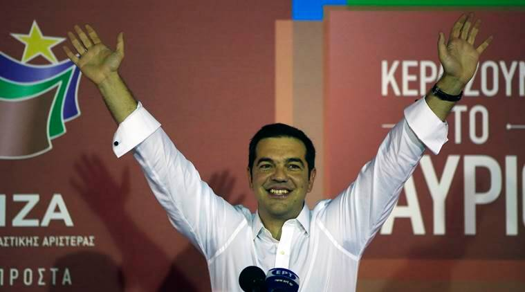 Greece, Greece election, Greece elections, Alexis Tsipras, Syriza, Greece election results, Greece elections, tsipras, Alexis Tsipras greece, syriza election result, greece pm, new greece pm, greece prime minister, greek prime minister, greece election news, greece elections latest, greece news, world news, europe news, editorials, indian express