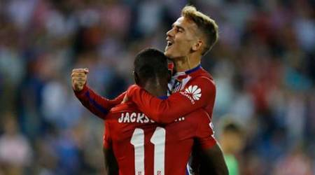 Atletico Madrid ascend to top spot in Spanish La Liga after 2-0 win over Getafe