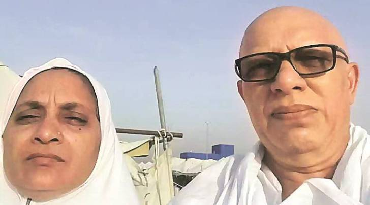 Vadodara based couple Hanif Shaikh and Ayeshbibi Shaikh, missing since the stampede broke