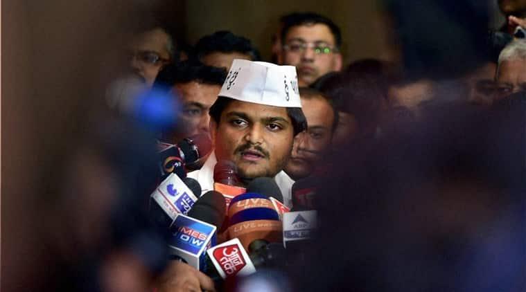 Patidaar Anamat Anandolan Samiti (PAAS) convener Hardik Patel. (Source: PTI photo)