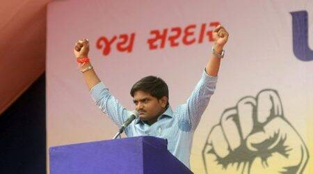Hardik Patel booked for sedition over alleged comments on ...