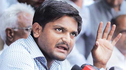 In Hardik Patel's new base of Surat, his teammates announce 'Dandi march'