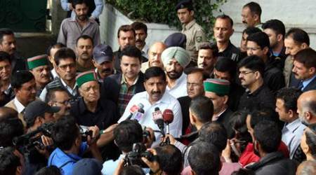 himachal chief minister, virbhadra singh, himachal cm virbhadra singh, virbhadra house raid, CBI himachal CM house raid, Congress, Himachal pradesh news, india news, latest news, indian express