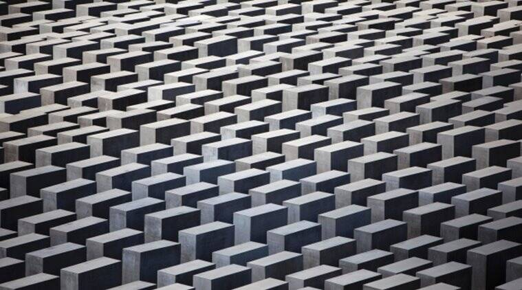 The concrete slabs of the Holocaust Memorial in central Berlin. File/AP Photo.