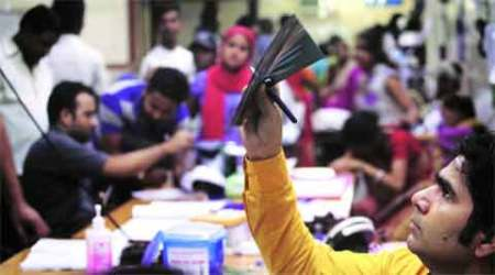 Delhi hospitals: Patients in corridors, shortage of testkits