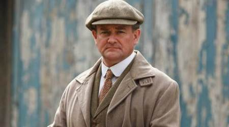 'Downton Abbey' actor Hugh Bonneville shoots as Lord Mountbatten in Jodhpur