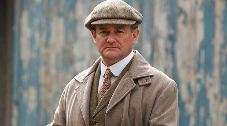 'Downton Abbey' actor Hugh Bonneville shoots as Lord ...
