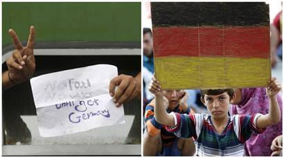 Europe migrant crisis: Hungary train blockade lifted after two days, protests continues