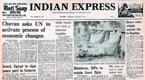 Constitution, British parliament, Indira Gandhi, UN General Assembly, The Indian Express