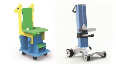 IIT, IIT-B, Industrial Design Centre. IIT-B Industrial Design Centre, low cost solution, cerebral palsy, mumbai news, indian express