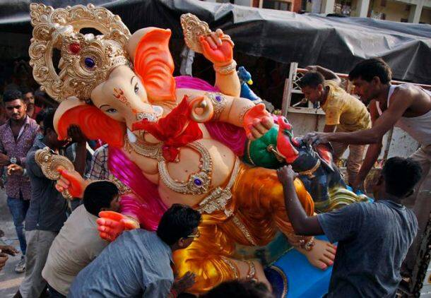 Ganesh Chaturthi, Ganesh Chaturthi festival, Ganesh Chaturthi Decorations, Ganesh Chaturthi Mumbai, Ganesh Chaturthi Jaipur, Ganesh Chaturthi Ahmedabad, Ganesh Chaturthi festival in India, Ganesh Pandals, Ganesh idols, Ganesh Festival, Lord Ganesha, Ganesh Chaturthi September 17