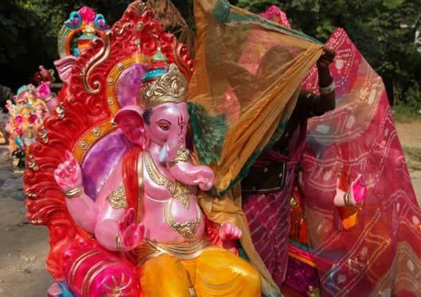 Ganesh Chaturthi, Ganesh Chaturthi festival, Ganesh Chaturthi Decorations, Ganesh Chaturthi Mumbai, Ganesh Chaturthi Jaipur, Ganesh Chaturthi Ahmedabad, Ganesh Chaturthi festival in India, Ganesh Pandals, Ganesh idols, Ganesh Festival, Lord Ganesha, Ganesh Chaturthi September 17