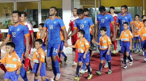 India move to 155th spot in latest FIFA rankings