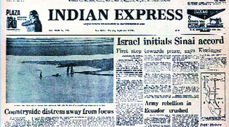 Attorney General Niren De, Supreme Court, judicial review, Chief Justice A.N. Ray, Sinai Peace deal, Henry Kissinger, indian express