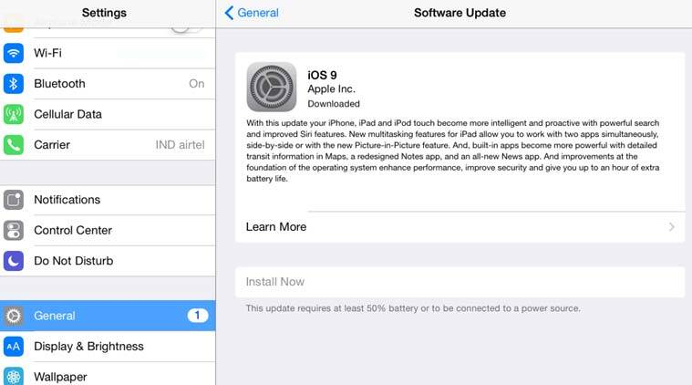 Apple iOS 9 update for iPhones, iPad: Here's how to download