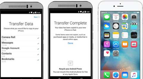 Apple's 'Move to iOS' app is now live on Google Play Store