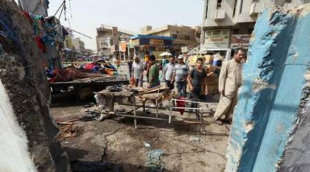Iraq officials: Suicide bombing at Baghdad service kills 17