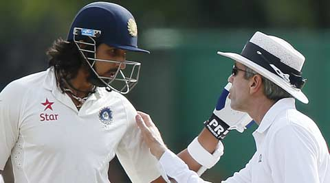 Ishant Sharma alongwith three Sri Lanka players charged for breach of code of conduct