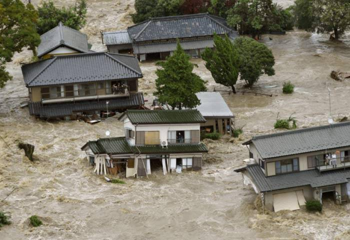Tropical storm Etau, japan, japan, japan floods, japan rains, Tokyo, Kinugawa River, Japan flood rescue, japan flood toll, japan casualties, world news, japan news