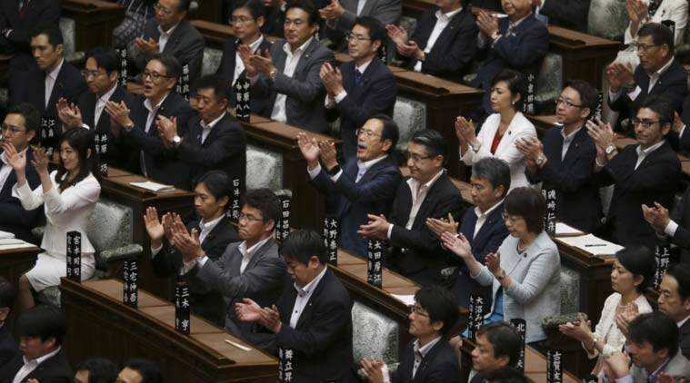 japan, japan military, japan resolution, japan security bill, japan new security bill, japan news, japan news, world news, latest news