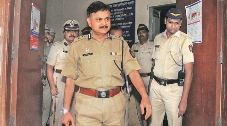 Mumbai Police Commissioner Ahmad Javed.