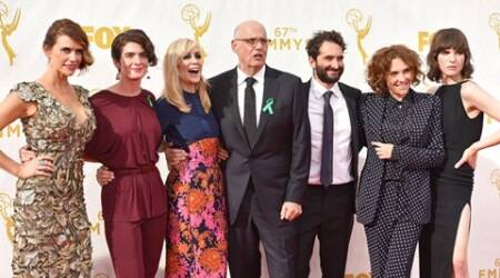 Jeffrey Tambor, Gaby Hoffmann support President Barack Obama's climate change plan at Emmys
