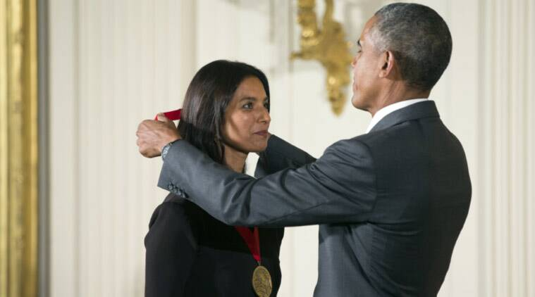 Jhumpa Lahiri, barack obama, national humanities medal, jhumpa lahiri obama medal, jhumpa lahiri medal, jhumpa lahiri award, jhumpa lahiri honour, jhumpa lahiri books, barack obama, barack obama award, barack obama award, barack obama medal, world news, latest news