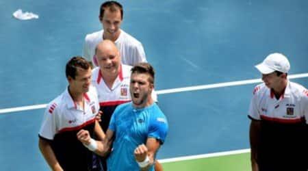 Davis Cup, davis cup 2015, davis cup 2015 results, davis cup results, india vs czech republic, india vs czech, india tennis, leander paes, paes, yuki bhambri, tennis news, tennis