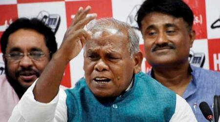 bihar elections, bihar news, Bihar polls, Jitan Ram Manjhi, HAM (S), ham seats, bihar ham seats, ham s assembly seats, manjhi ham, manjhi bihar polls, bjp bihar polls, bihar seat sharing, bihar polls seat sharing, patna news, india news, latest news