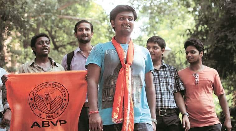ABVP, JNUSU election, JNU council meeting, civil code, naxalism, delhi news, indian express