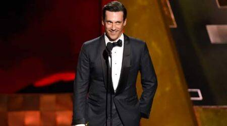 Jon Hamm 'finally' wins best actor Emmy for 'Mad Men'