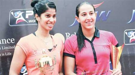 Bloodied but unbeaten, Joshana Chinappa wins NSCI Open