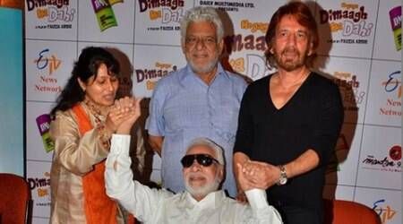 Kader Khan's comeback film is a clean comedy: Director Fauzia Arshi