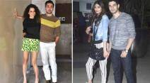 Athiya Shetty, Kangana Ranaut, Imran Khan, Kangana Imran photos, Katti Batti, Sooraj Pancholi, Hero promotion photos