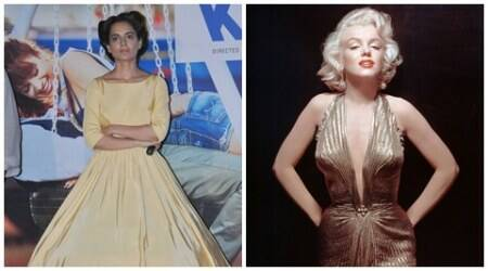 Kangana to sport Marilyn Monroe inspired look in 'Rangoon'