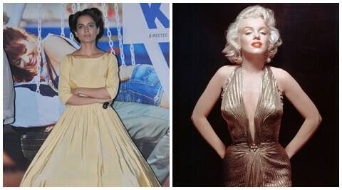 Kangana Ranaut, Kangana Ranaut films, Kangana Ranaut movies, Kangana Ranaut upcoming movies, Kangana Ranaut news, actor Kangana Ranaut, marilyn monroe, Kangana Ranaut marilyn monroe, rangoon, Kangana Ranaut rangoon, entertainment news