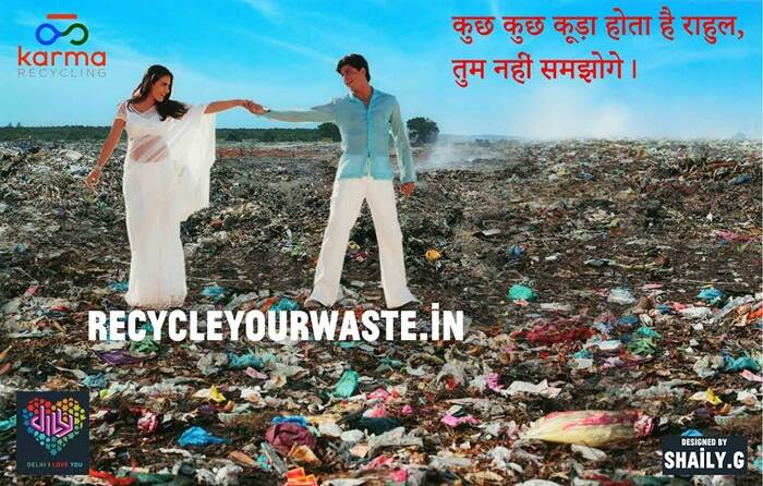 This iconic scene from Kuch Kuch Hota Hai has been given a twist for the sake for environment