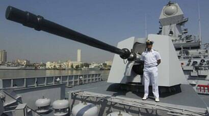 INS Kochi, India's Guided Missile Destroyer, commissioned
