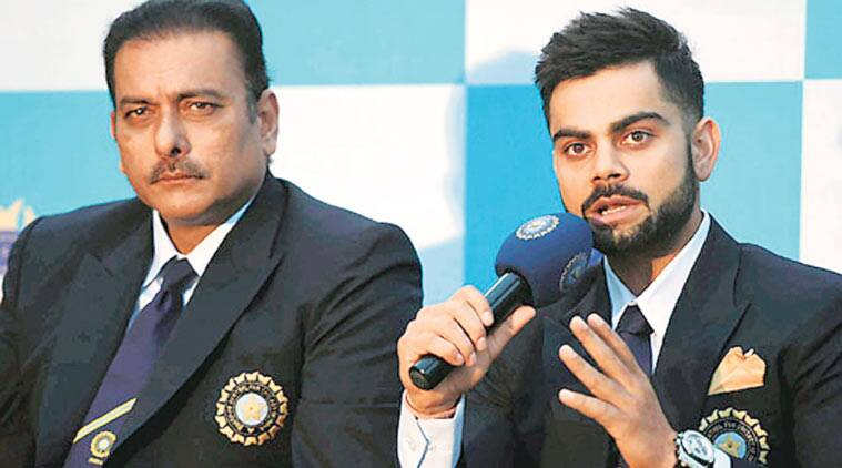 Image result for Shastri And Kohli
