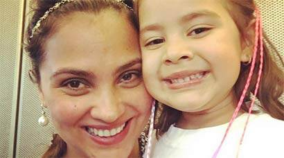 Lara Dutta, daughter Saira's matching smiles